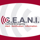 G.E.A.N.I. Guilford Emergency: Alert- Notification - Information