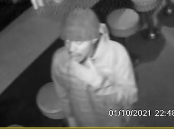 Investigators with the Jackson Police Department seek assistance in identifying a Burglary suspect.