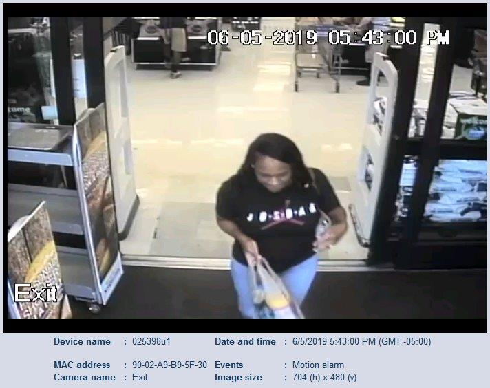 Recognize this person using a stolen credit card at Kroger? Call JPD or Crime Stoppers
